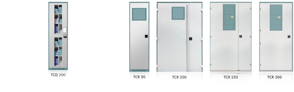 dispensing and return cabinets