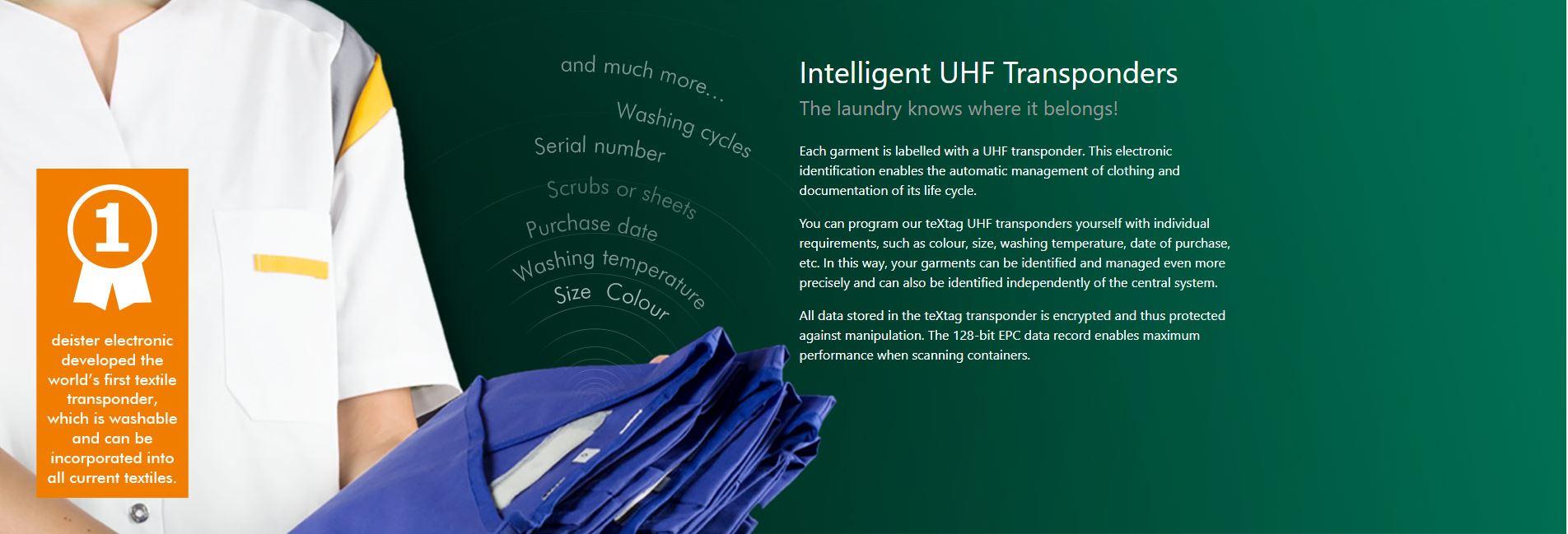 Intelligent UHF Transponders